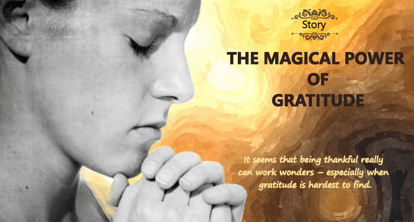 THE MAGICAL POWER OF GRATITUDE
