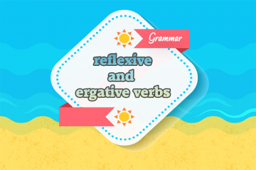 reflexive and ergative verbs