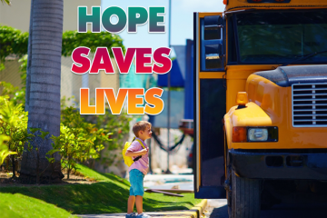 HOPE SAVES LIVES