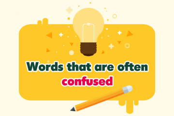 Words that are often confused